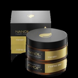 Numer 1 wśród masek – Nanoil Keratin Hair Mask